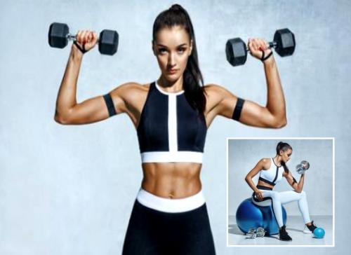 Ejercicios para quemar grasa de los brazos en el Gym